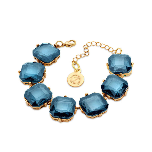 Cheap Blue Crystal Bracelet | 7 Charming Sisters