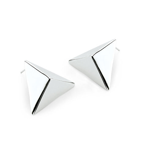 Staple Earrings-earrings-Jennifer-silver-7 Charming Sisters, LLC