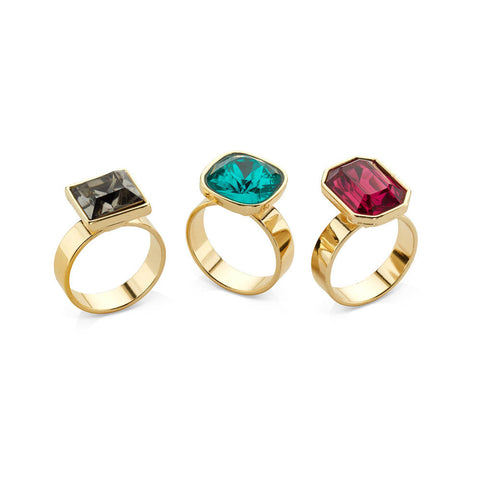 Stone Cocktail Rings