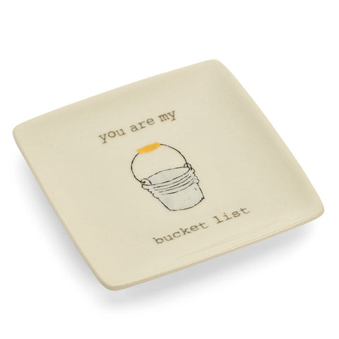 Sweet Ceramic Ring Holder Dish for Girls | 7 Charming Sisters