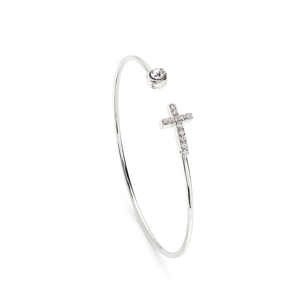 Cross My Heart Bracelet - 7 Charming Sisters, LLC