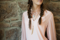 Demure Damsel Necklace