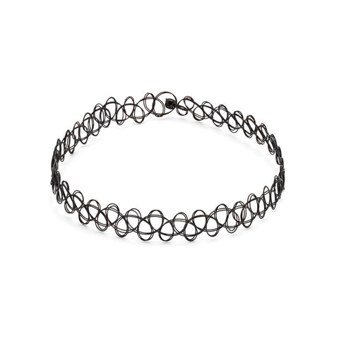 stretchy choker necklace