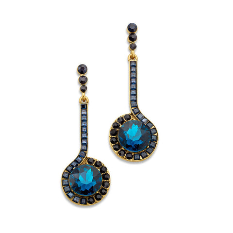 diva-mode-blue-crystal-drop-statement-earrings