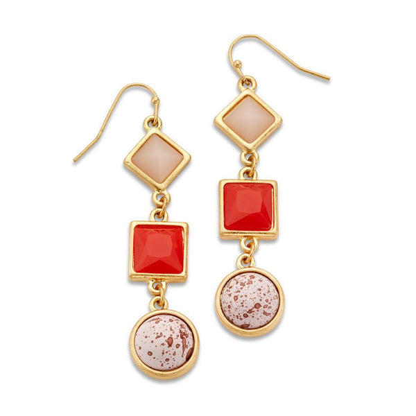 Laugh Out Loud Earrings - 7 Charming Sisters, LLC