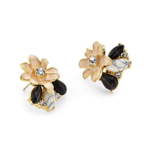 Stud Floral Earrings