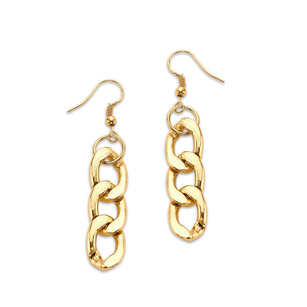 Chain Your Look Earrings - 7 Charming Sisters, LLC