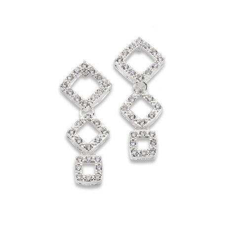 Corner Suite Earrings - 7 Charming Sisters, LLC