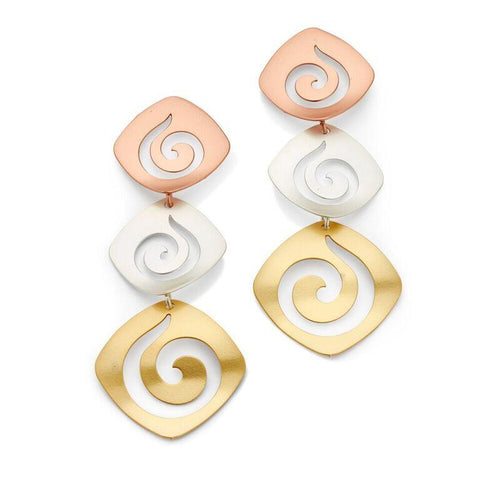 Elegance Never Fades Earrings - 7 Charming Sisters, LLC