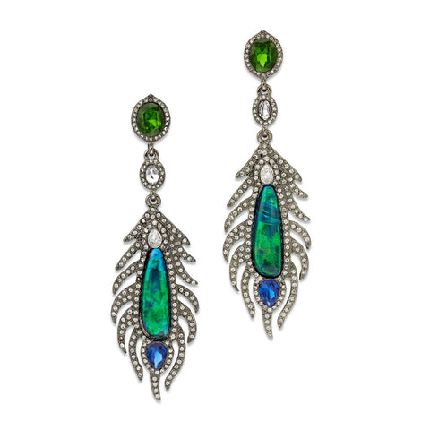 Into the Blue Earrings - 7 Charming Sisters, LLC
