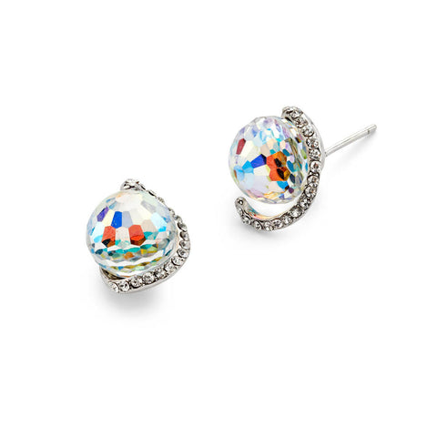 Cheap Colorful Crystal Ball Stud Earrings | 7 Charming Sisters