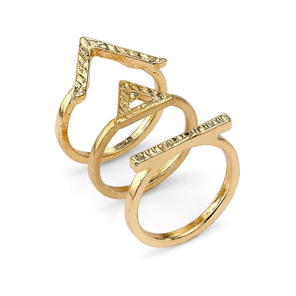 Egyptian Angles Rings - 7 Charming Sisters, LLC