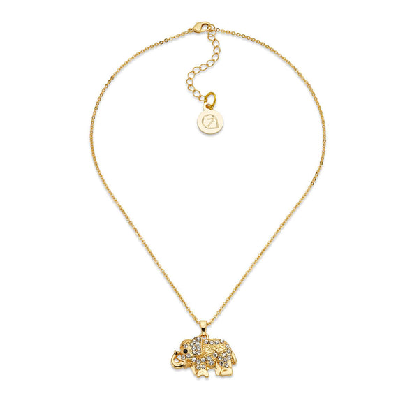 Elephants Never Forget Necklace - 7 Charming Sisters, LLC
