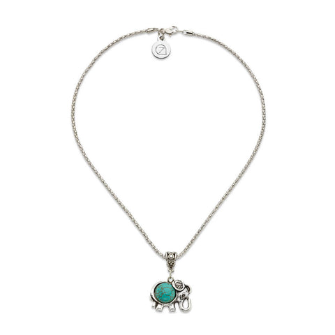 Elephants on Parade Necklace - 7 Charming Sisters, LLC