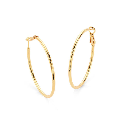 Eternity Hoop Earrings - 7 Charming Sisters, LLC
