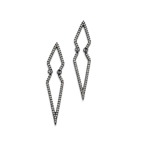 fashion-crime-pointed-gunmetal-crystal-statement-earrings
