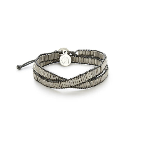 Cheap Silver Double Twisted Bracelet | 7 Charming Sisters