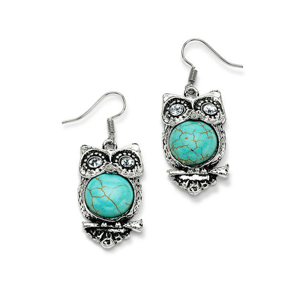 Give a Hoot Earrings - 7 Charming Sisters, LLC