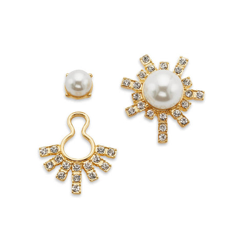 high-society-white-pearl-crystal-asymmetrical-earrings