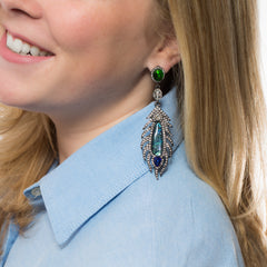 Into the Blue Earrings