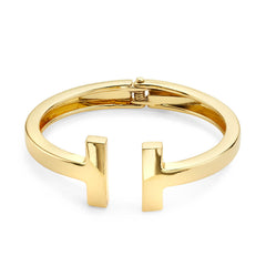 f05a8716e Tiffany T Square Bracelet in 18k Gold Cuff Bangle