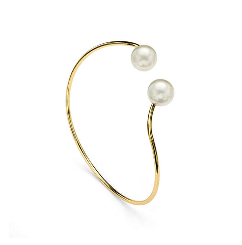 It's a Wrap Pearl Cuff Bracelet