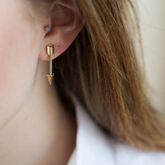 Arrow Straight Earrings