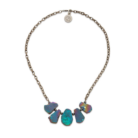 Jakarta Rainbow Necklace - 7 Charming Sisters, LLC