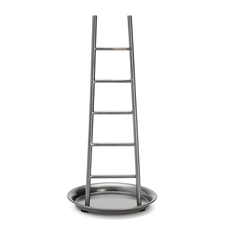 Silver Metal Jewelry Holder Stand Ladder | 7 Charming Sisters