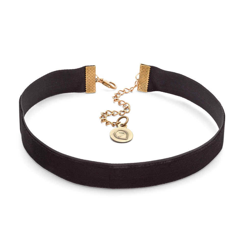 Vintage Style Jewelry, Retro Jewelry Mariah Choker Necklace $7.00 AT vintagedancer.com