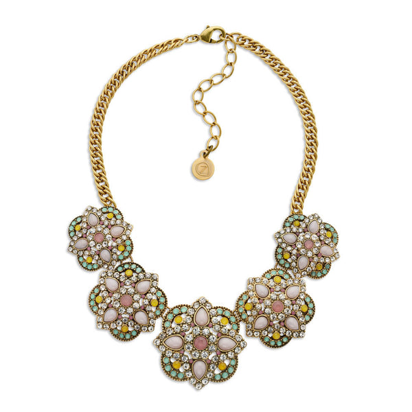 Mosaic Market Necklace-Necklace-Jessica-7 Charming Sisters, LLC