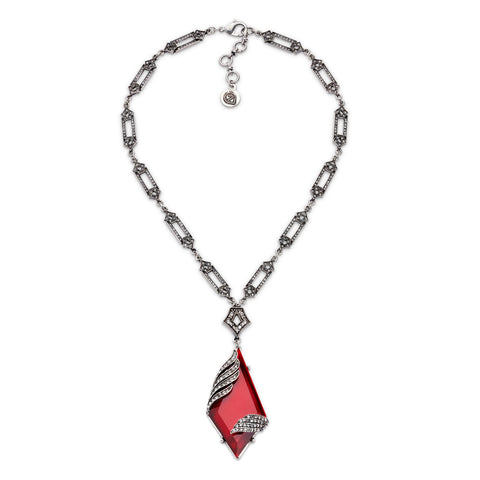 Blood Moon Necklace-Necklace-Paula-7 Charming Sisters, LLC