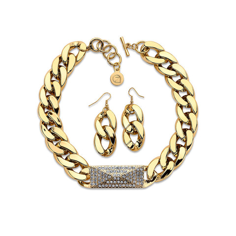Financial Fashion Jewelry Set