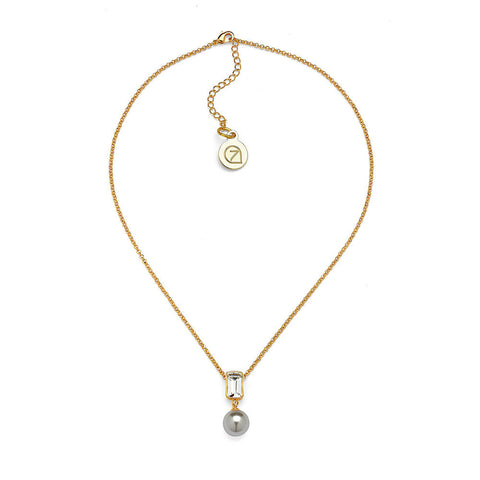 Crystal Ball Necklace - 7 Charming Sisters, LLC