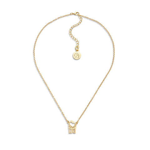 Kissing Giraffes Necklace - 7 Charming Sisters, LLC