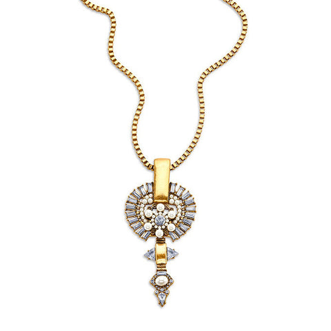 How Low Can You Go Necklace-Necklace-Kimmie-7 Charming Sisters, LLC