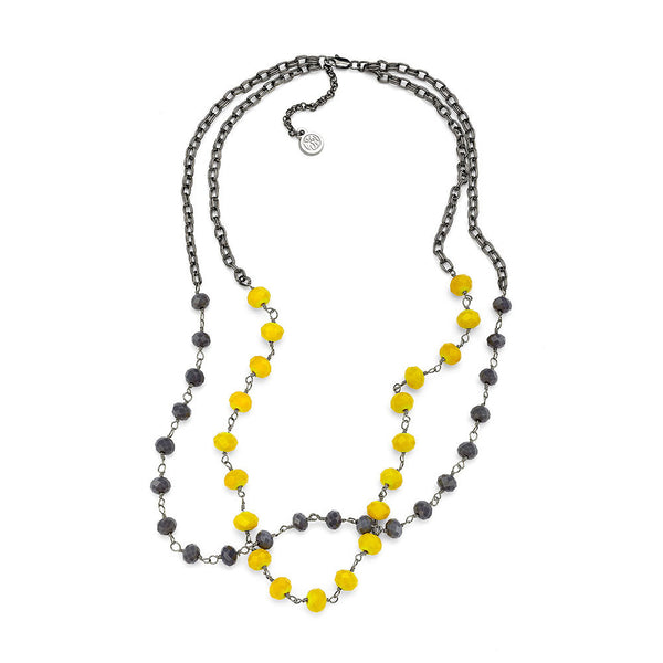Miami Necklace - 7 Charming Sisters, LLC