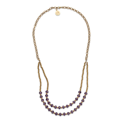 Plum Cheyenne Necklace