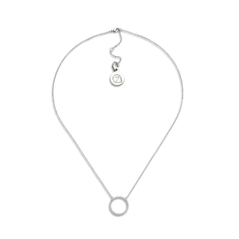 Social Gathering Necklace-Necklace-Kimmie-Silver-7 Charming Sisters, LLC