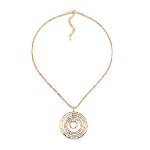 Spiral Into Control Necklace-Necklace-Melissa-7 Charming Sisters, LLC
