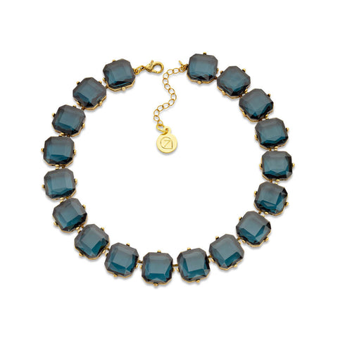 Best Blue Crystal Choker Necklace | 7 Charming Sisters