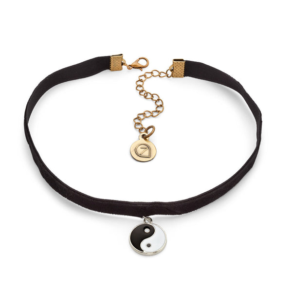 Peace Choker Necklace-Necklace-Kimberly-7 Charming Sisters, LLC