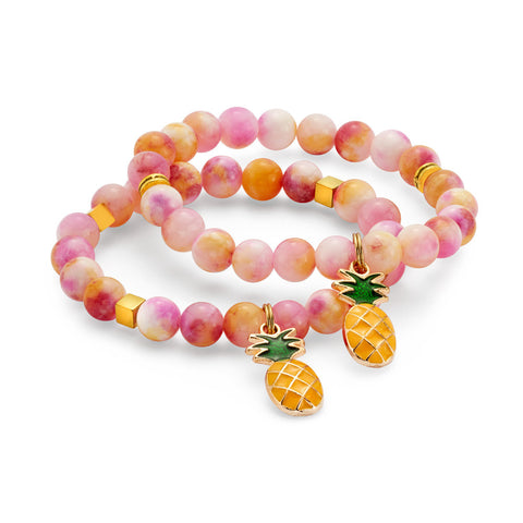 Pineapple Stackable Bracelet