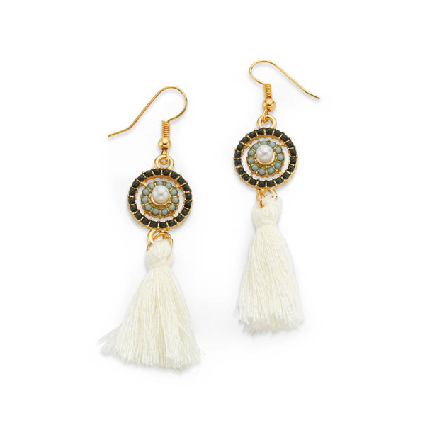 Polar Pomp n Circumstance Earrings - 7 Charming Sisters, LLC