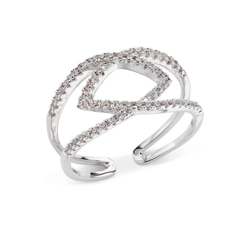 Pave Zigzag Ring