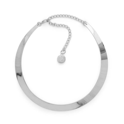 Sleek as Ever Necklace-Necklace-Jennifer-Silver-7 Charming Sisters, LLC
