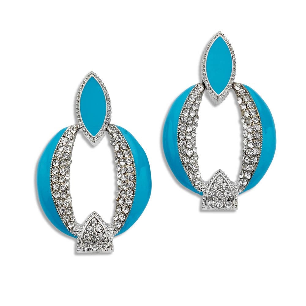 Vintage Style Jewelry, Retro Jewelry Steppin Out Earrings $27.00 AT vintagedancer.com