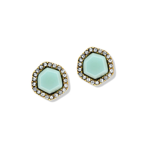 Cheap Turquoise Stud Silver Earrings for Women Online | 7 Charming Sisters