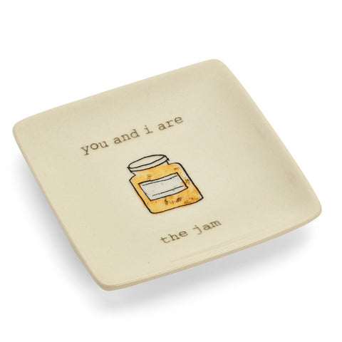 You And I Are the Jam Ring Dish