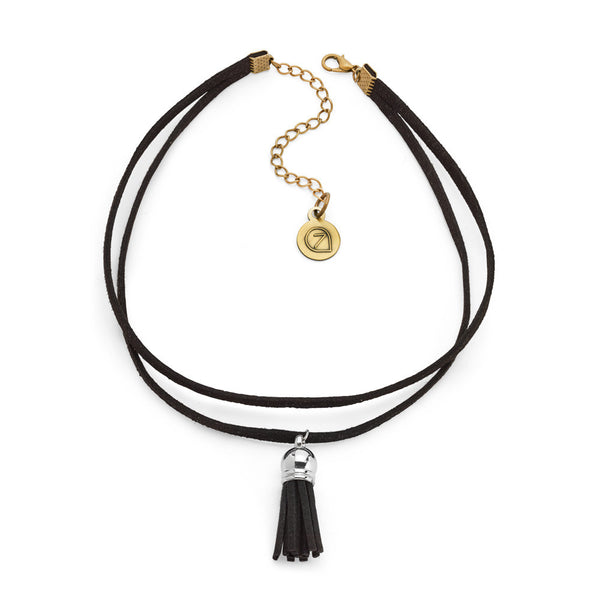 Best Black Tassel Choker Necklace | 7 Charming Sisters